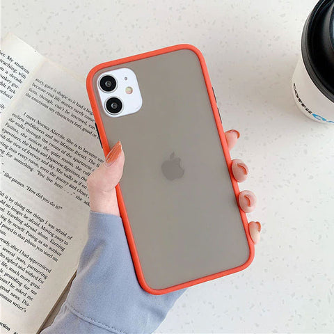 iPhone 11 Pro Max Case Clear Silicone Mint Hybrid Bumper Soft Cover T3-CoolDesignOnline