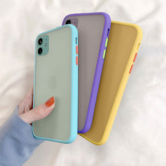 iPhone 11 Pro Max Case Clear Silicone Mint Hybrid Bumper Soft Cover -Goodlooking Phonecase-CoolDesignOnline