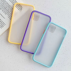 iPhone 11 Pro Case Clear Silicone Mint Hybrid Bumper Soft Cover -00-CoolDesignOnline