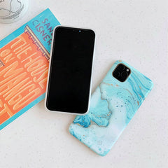 iPhone 11 Case Blue Marble Case iPhone 11 Cover-CoolDesignOnline