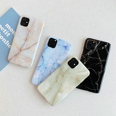 iPhone 11 Pro Case White Marble Case iPhone 11 Pro Cover H-CoolDesignOnline