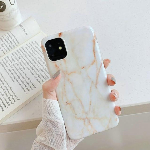 iPhone 11 Pro Max Case White Marble Case iPhone 11 Pro Max Cover G-CoolDesignOnline