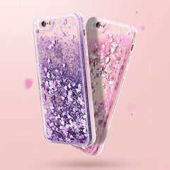 iPhone SE Case 2020 Glitter Liquid Sand Green Silicone iPhone Cover-CoolDesignOnline