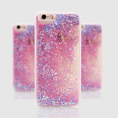 iPhone 8 Case Glitter Liquid Sand Gold Silicone iPhone Cover-CoolDesignOnline