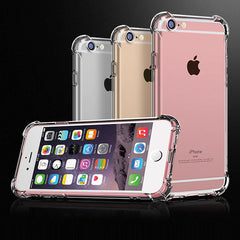 iPhone 7 Case Silicon Super Shockproof Clear Soft Case-CoolDesignOnline