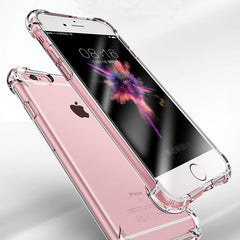 iPhone 8 Case Silicon Super Shockproof Clear Soft Case-CoolDesignOnline