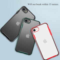 iPhone 8 Case Navy Blue Soft TPU Silicone Bumper Case-CoolDesignOnline