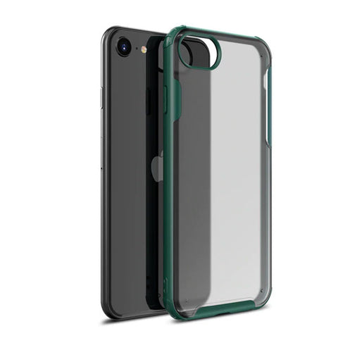 iPhone 8 Case Green Soft TPU Silicone Bumper Case-CoolDesignOnline