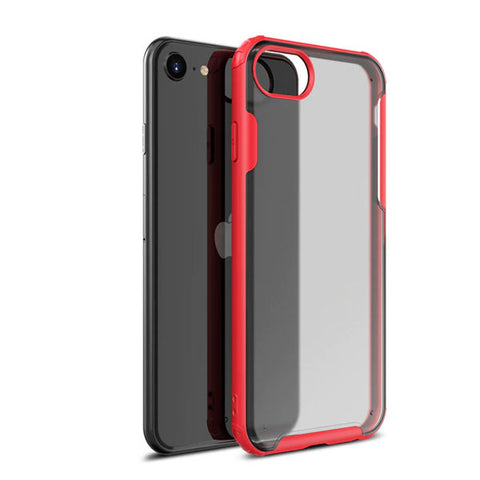 iPhone 8 Case Red Soft TPU Silicone Bumper Case-CoolDesignOnline