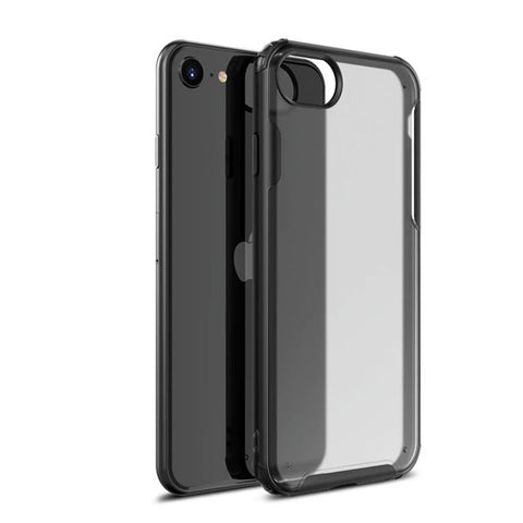 iPhone SE Case 2020 Black Soft TPU Silicone Bumper Case-CoolDesignOnline
