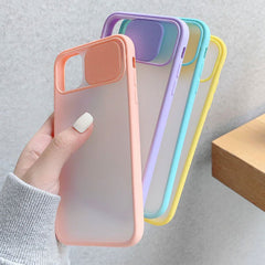 iPhone 11 Case Lilac Purple Candy Color Camera Lens Protection Cover-CoolDesignOnline