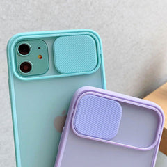 iPhone 11 Case Dark Green Candy Color Camera Lens Protection Cover-CoolDesignOnline
