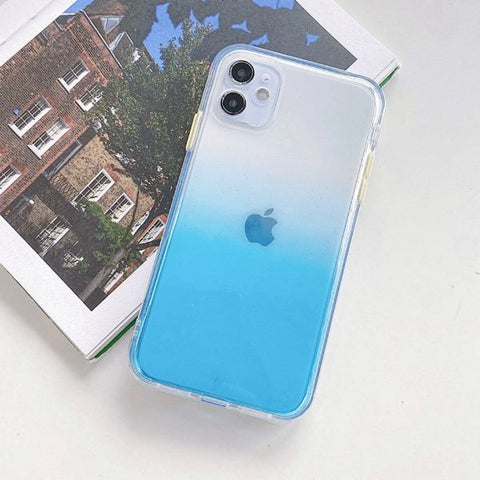 iPhone 12 Case Clear Color Protective iPhone Cover GF-CoolDesignOnline