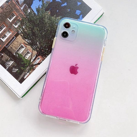 iPhone 12 Case Clear Color Protective iPhone Cover GC-CoolDesignOnline