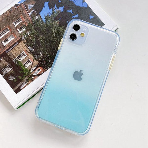 iPhone 12 Case Clear Color Protective iPhone Cover GI-CoolDesignOnline
