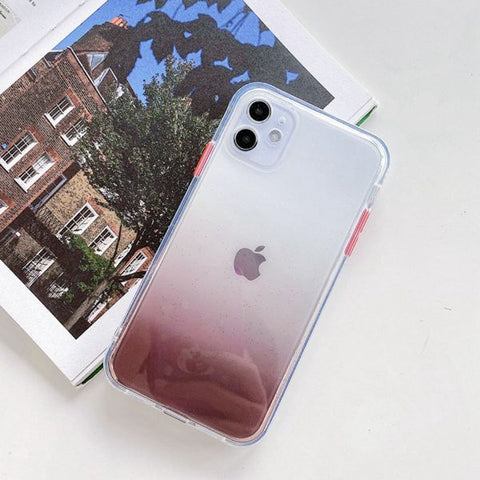 iPhone 12 Case Clear Color Protective iPhone Cover GK-CoolDesignOnline