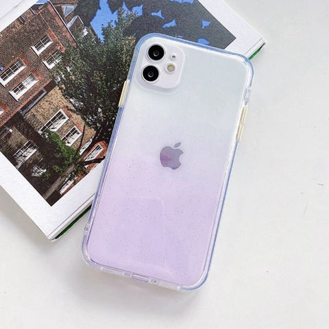 iPhone 12 Case Clear Color Protective iPhone Cover GM-CoolDesignOnline