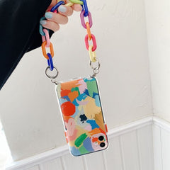 iPhone 12 Pro Case Graffiti Bracelet Colorful iPhone Cover-CoolDesignOnline