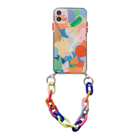 iPhone 12 Pro Max Case Graffiti Bracelet Colorful iPhone Cover-CoolDesignOnline