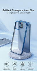 iPhone 12 Pro Case Silver Plating Transparent iPhone Cover-CoolDesignOnline