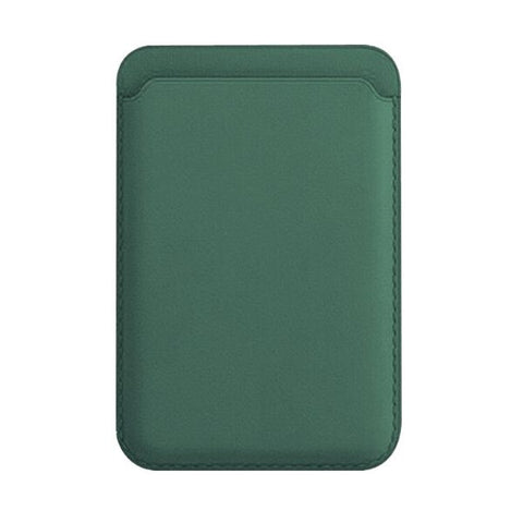 iPhone Leather Wallet with MagSafe Green Magnetic Card Bag For iPhone 12-CoolDesignOnline