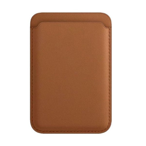 iPhone Leather Wallet with MagSafe Brown Magnetic Card Bag For iPhone 12-CoolDesignOnline