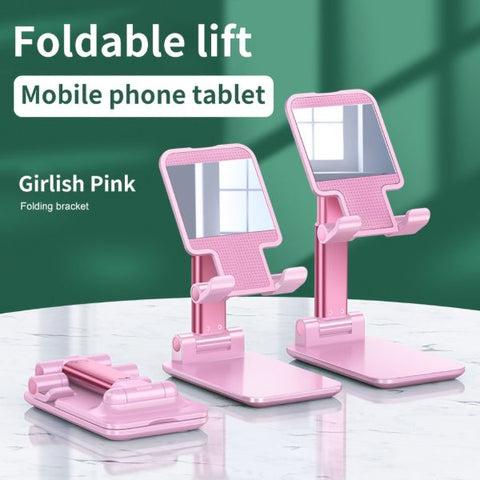 iPhone Stand Charger iPad Stand Holder Adjustable Pink Tablet Stands-CoolDesignOnline