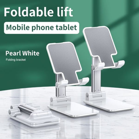 iPhone Stand Charger iPad Stand Holder Adjustable White Tablet Stands-CoolDesignOnline