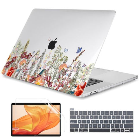 Macbook Air 13 inch Case Plants Printed Macbook Air Case Cover J266