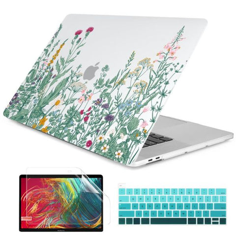 Macbook Air 13 inch Case Plants Printed Macbook Air Case Cover J265