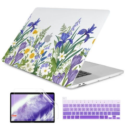 Macbook Air 13 inch Case Plants Printed Macbook Air Case Cover J339
