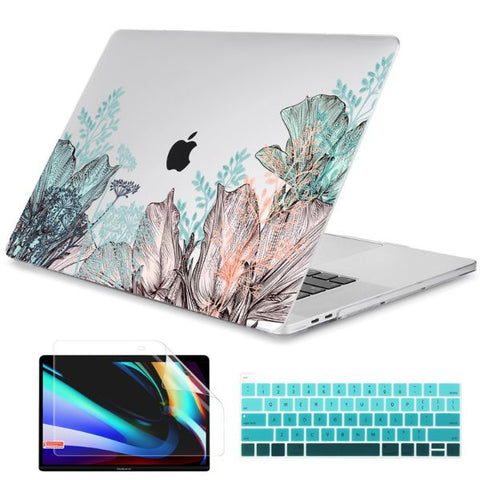 Macbook Air 13 inch Case Plants Printed Macbook Air Case Cover X208
