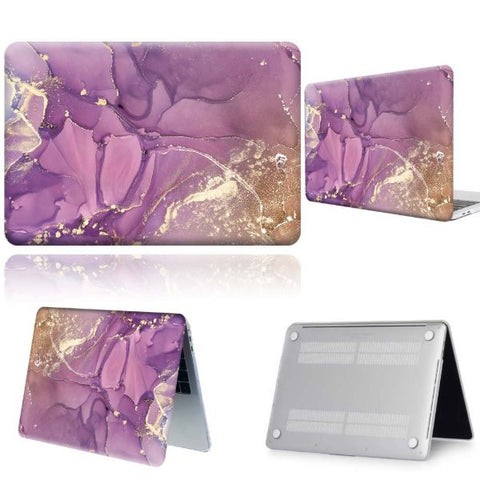 Macbook Air 13 inch Case Macbook Air Protective Case Purple Shell Cover