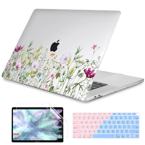 Macbook Pro Cases Macbook Pro 13 inch Case Plants Print Cover X172