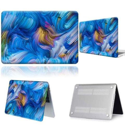 Macbook Pro Cases Blue Macbook Pro 13 inch Case 2020 Hard Shell Cover
