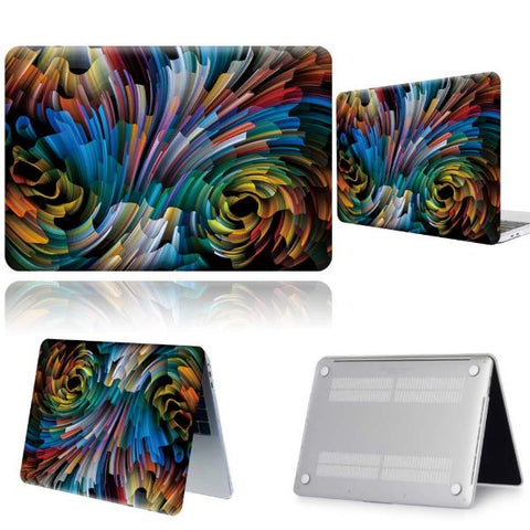 Macbook Pro Cases Abstract Macbook Pro 13 inch Case 2020 Hard Shell Cover 2