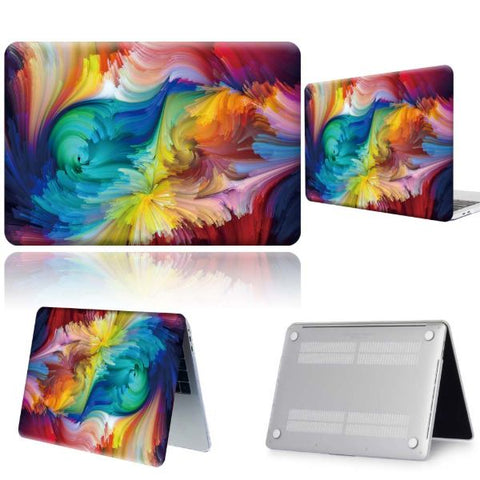 Macbook Pro Cases Abstract Macbook Pro 13 inch Case 2020 Hard Shell Cover 3