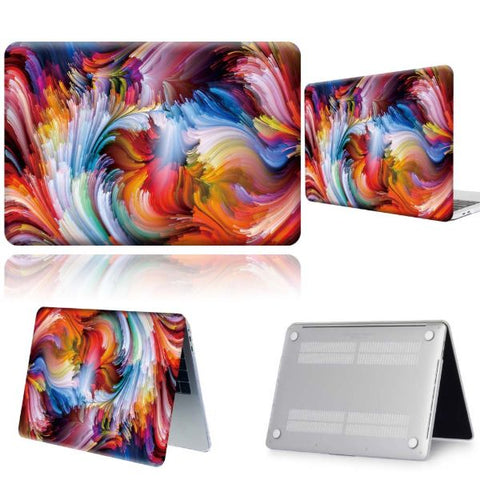Macbook Pro Cases Abstract Macbook Pro 13 inch Case 2020 Hard Shell Cover 7