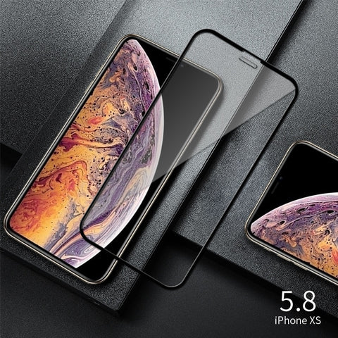 iPhone XS Screen Protector Tempered Glass Full Cover-CoolDesignOnline