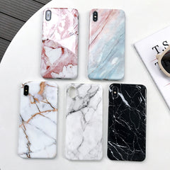 iPhone XS Max Case Marble Texture iPhone Cover 5-CoolDesignOnline