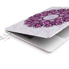 MacBook Pro Case 13 inch With Touch Bar Laptop Cover M731 Purple-CoolDesignOnline