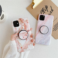 Classic Marble iPhone 11 Pro Case Stand Holder iPhone Cover 2-CoolDesignOnline