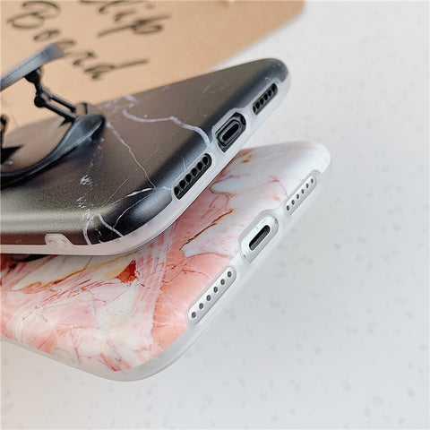 Classic Marble iPhone 11 Pro Case Stand Holder iPhone Cover-CoolDesignOnline