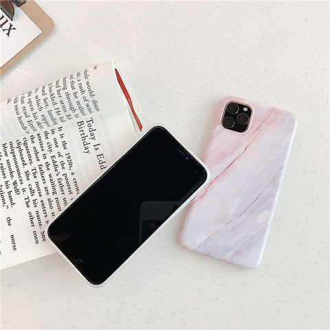 Blue White Marble iPhone 11 Pro Max Case iPhone Cover-CoolDesignOnline