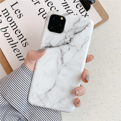 White Marble iPhone 11 Case iPhone Cover 2-CoolDesignOnline