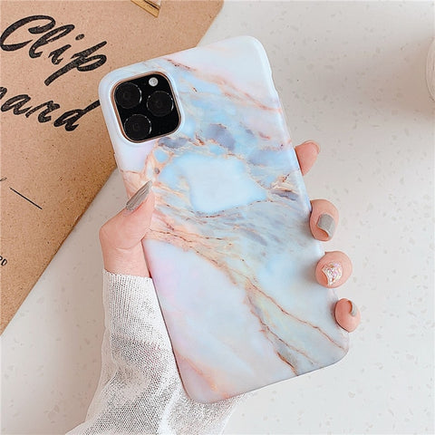 Gemstone Marble iPhone 11 Case iPhone Cover-CoolDesignOnline