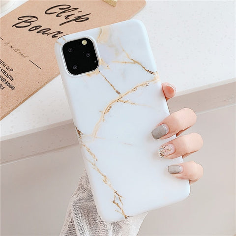 White Marble iPhone 11 Pro Max Case iPhone Cover 1-CoolDesignOnline