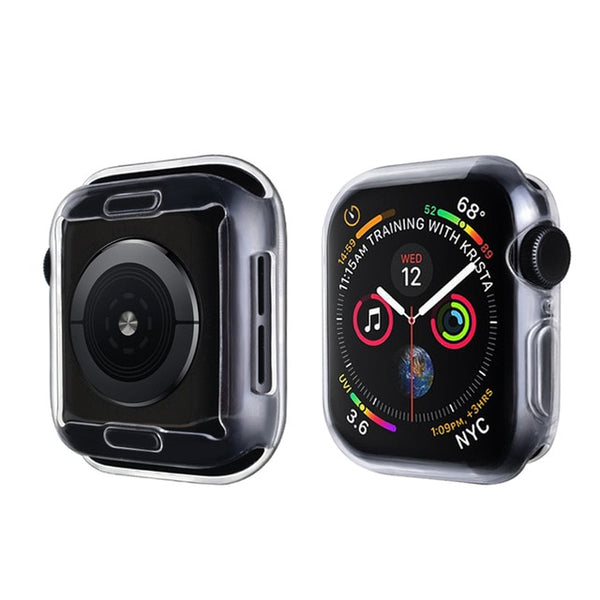 Apple Watch Case Series 4 44mm Protective Screen Protector Clear-CoolDesignOnline