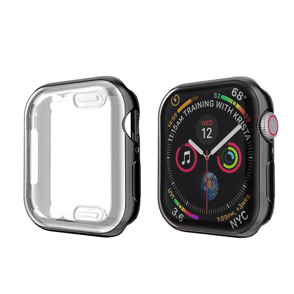 Apple Watch Case Series 4 40mm Protective Screen Protector Black-CoolDesignOnline