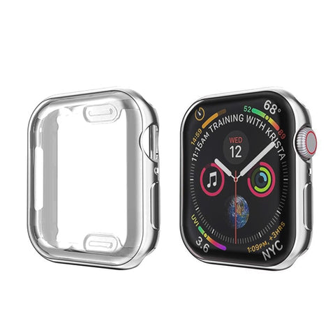 Apple Watch Case Series 5 44mm Waterproof Screen Protector Silver-CoolDesignOnline